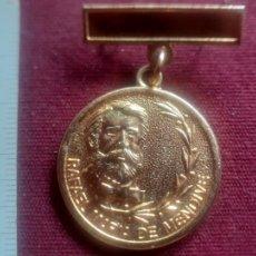 Medallas condecorativas: CUBA. MEDALLA RAFAEL MARÍA DE MENDIVE. SINDICATO NACIONAL DE TRABAJADORES DE LA EDUCACIÓN. Lote 269288348