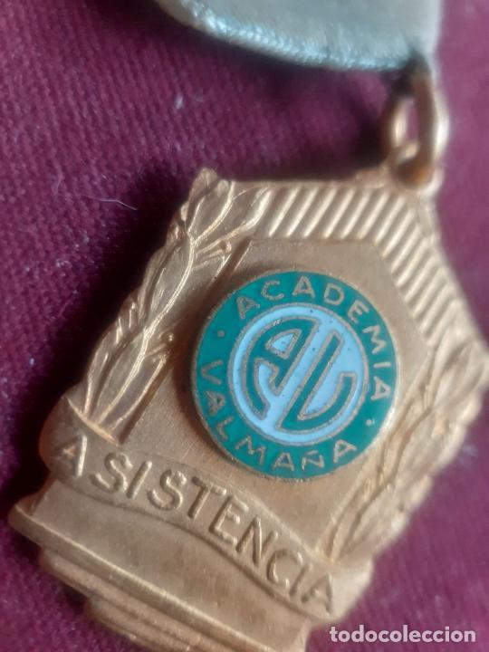 MEDALLA COLEGIAL. CUBA. ACADEMIA VALMAÑA (Numismática - Medallería - Condecoraciones)