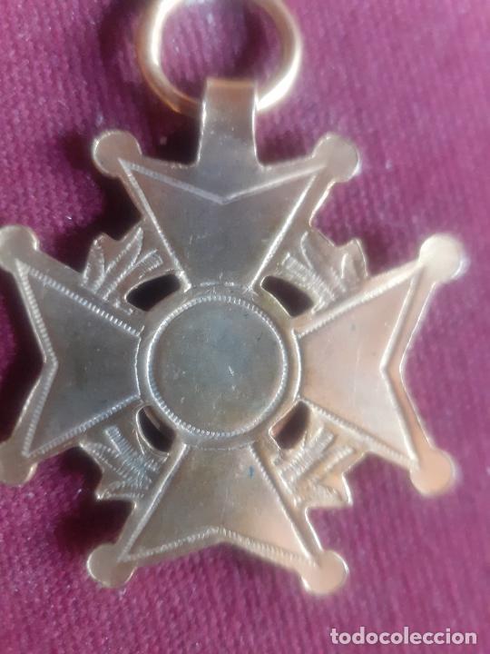 Medallas condecorativas: Al Mérito. Medalla colegial antigua - Foto 3 - 270122523