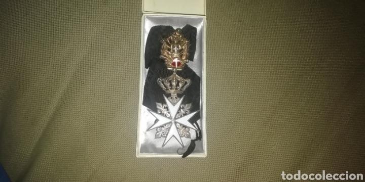 MEDALLA CRUZ ORDEN DE MALTA. (Numismática - Medallería - Condecoraciones)