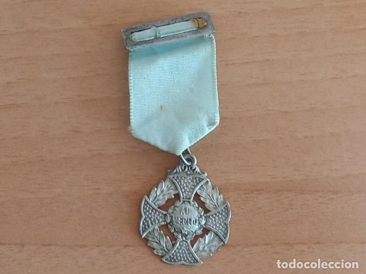 MEDALLA ESCOLAR AL MÉRITO (Numismática - Medallería - Condecoraciones)