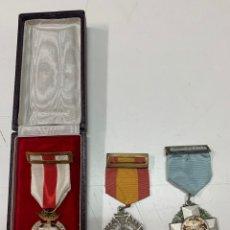 Médailles décorations: LOTE DE TRES MEDALLAS.. Lote 275471468