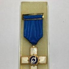 Médailles décorations: MEDALLA AL MÉRITO PROFESIONAL CON DISTINTIVO BLANCO(COLEGIO DE DETECTIVES PRIVADOS DE LA C.VLC). Lote 275673998