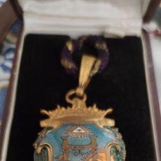 Medallas condecorativas: GRAN MEDALLA AYUNTAMIENTO DE SAN FERNANDO CADIZ, ANTIGUA, EPOCA FRANQUISTA, PRECIOSA, ALCALDE.. Lote 281963363