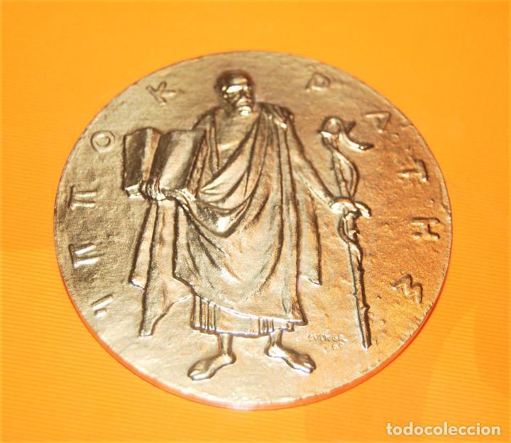 HIPÓCRATES, MEDALLA MÉRITO MÉDICO. (Numismática - Medallería - Condecoraciones)