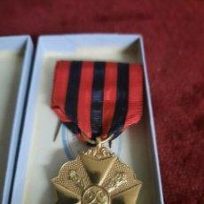 Medallas condecorativas: CRUZ CIVICA REINO DE BELGICA. Lote 288158653