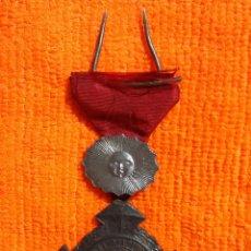 Medallas condecorativas: CONDECORACION EJERCITO URUGUAYO ALIADOS GUERRA TRIPLE ALIANZA SOL DE PLATA PARA OFICIAL 1865 1869. Lote 288683423