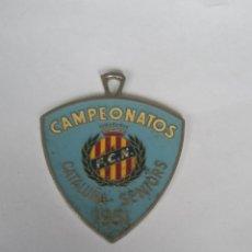 Medallas condecorativas: MEDALLA CAMPEONATOS CATALUÑA SENIORS 1951. Lote 288686228