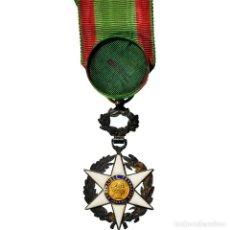 Medallas condecorativas: [#181323] FRANCIA, MÉDAILLE DU MÉRITE AGRICOLE, MEDALLA, 1883, MUY BUEN ESTADO, PLATA. Lote 289212323