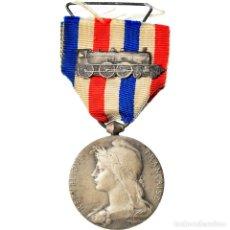 Medallas condecorativas: [#180815] FRANCIA, MÉDAILLE D'HONNEUR DES CHEMINS DE FER, RAILWAY, MEDALLA, 1919. Lote 289271768