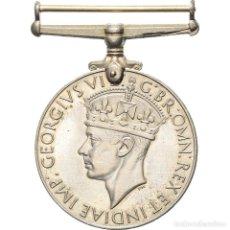 Medallas condecorativas: [#180917] REINO UNIDO, WAR, GEORGES VI, MEDALLA, 1939-1945, EXCELLENT QUALITY, NÍQUEL, 36. Lote 289273063