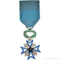 Medallas condecorativas: [#180909] BENÍN, CROIX DE CHEVALIER DE L'ETOILE NOIRE, MEDALLA, SIN CIRCULACIÓN, BRONCE. Lote 289273863