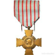 Medallas condecorativas: [#180809] FRANCIA, CROIX DU COMBATTANT, MEDALLA, 1939-1945, MUY BUEN ESTADO, BRONCE. Lote 289274383