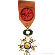 Medallas condecorativas: [#180905] FRANCIA, LÉGION D'HONNEUR, OFFICIER, TROISIÈME RÉPUBLIQUE, MEDALLA, 1870. Lote 289275313