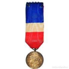 Medallas condecorativas: [#180777] FRANCIA, HONNEUR-TRAVAIL, RÉPUBLIQUE FRANÇAISE, MEDALLA, MUY BUEN ESTADO. Lote 289285978