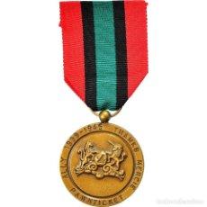 Medallas condecorativas: [#180873] REINO UNIDO, RÉSEAU DE RÉSISTANCE PAWNTICKET, WAR, MEDALLA, 1939-1945, SIN. Lote 289287463