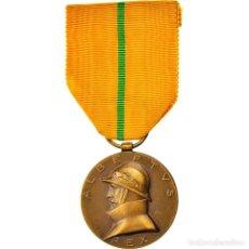 Medallas condecorativas: [#180848] BÉLGICA, COMMEMORATIVE MEDAL OF THE REIGN OF ALBERT I, MEDALLA, 1934, SIN. Lote 289287528