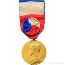 Medallas condecorativas: [#180813] FRANCIA, MÉDAILLE D'HONNEUR DU TRAVAIL, MEDALLA, MUY BUEN ESTADO, BORREL, ORO. Lote 289295498