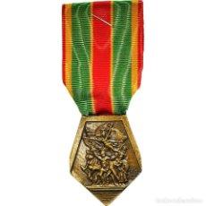 Medallas condecorativas: [#180796] FRANCIA, FÉDÉRATION NATIONALE DES COMBATTANTS VOLONTAIRES, WAR, MEDALLA, 1945. Lote 289295573