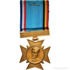 Medallas condecorativas: [#180795] FRANCIA, POELKAPELLE, CAPITAINE GUYNEMER, MEDALLA, 1967, EXCELLENT QUALITY. Lote 289295593