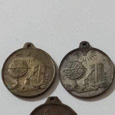 Medallas condecorativas: LOTE DE TRES MEDALLAS, DOS PREMIO AL MÉRITO Y OTRA VENTURA.. Lote 289753988