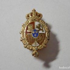Medallas condecorativas: INSIGNIA DE SOLAPA CONGRESO DE LOS DIPUTADOS. PLATA DE LEY SOBREDORADA Y ESMALTES. Lote 295880403