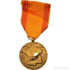 Medallas condecorativas: [#182067] FRANCIA, INSIGNE DU RÉFRACTAIRE, MEDALLA, EXCELLENT QUALITY, HOLLEBECK, BRONCE. Lote 297160128