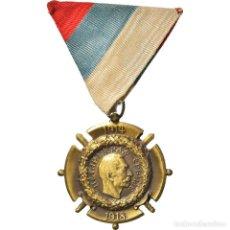 Medallas condecorativas: [#182065] SERBIA, MÉDAILLE COMMÉMORATIVE DE SERBIE, MEDALLA, 1914-1918, EXCELLENT. Lote 297160143