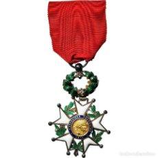 Medallas condecorativas: [#182053] FRANCIA, LÉGION D'HONNEUR, TROISIÈME RÉPUBLIQUE, MODÈLE DE LUXE, MEDALLA. Lote 297160193