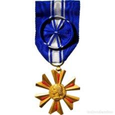 Medallas condecorativas: [#182051] FRANCIA, MÉRITE DU SANG, CROIX D'OFFICIER, MEDALLA, SIN CIRCULACIÓN, BRONCE. Lote 297160233