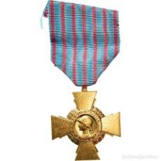 Medallas condecorativas: [#182046] FRANCIA, CROIX DU COMBATTANT DE 1914-1918, MEDALLA, EXCELLENT QUALITY, BRONCE. Lote 297161483
