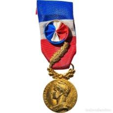 Medallas condecorativas: [#182077] FRANCIA, MÉDAILLE D'HONNEUR DU TRAVAIL, MEDALLA, 1992, EXCELLENT QUALITY. Lote 297161668