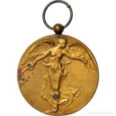 Medallas condecorativas: [#182025] BÉLGICA, LA GRANDE GUERRE POUR LA CIVILISATION, MEDALLA, 1914-1918, MUY BUEN. Lote 297161688