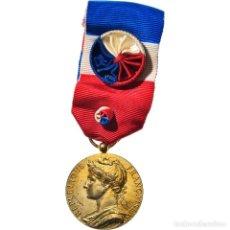 Medallas condecorativas: [#182075] FRANCIA, MÉDAILLE D'HONNEUR DU TRAVAIL, MEDALLA, 1986, MUY BUEN ESTADO, BORREL. Lote 297166328