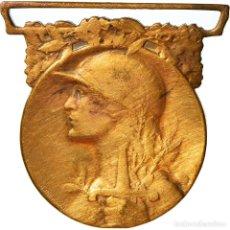 Medallas condecorativas: [#182059] FRANCIA, GRANDE GUERRE, MEDALLA, 1914-1918, MUY BUEN ESTADO, BRONCE, 33. Lote 297166408