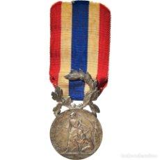 Medallas condecorativas: [#182064] FRANCIA, POLICE MUNICIPALE ET RURALE, WIERRE-EFFROY, MEDALLA, EXCELLENT QUALITY. Lote 297168243