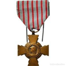 Medallas condecorativas: [#182058] FRANCIA, CROIX DU COMBATTANT DE 1914-1918, MEDALLA, MUY BUEN ESTADO, BRONCE, 36. Lote 297168493