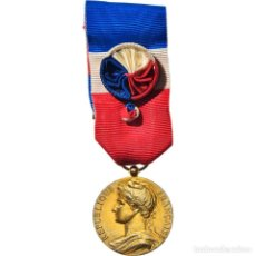 Medallas condecorativas: [#182074] FRANCIA, MÉDAILLE D'HONNEUR DU TRAVAIL, MEDALLA, 1986, MUY BUEN ESTADO, BORREL. Lote 297175103