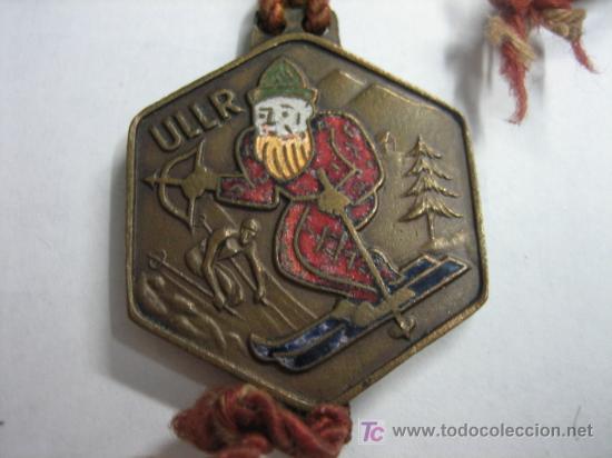 MEDALLA DE ESQUI ULLER (Coleccionismo Deportivo - Medallas, Monedas y Trofeos - Otros deportes)