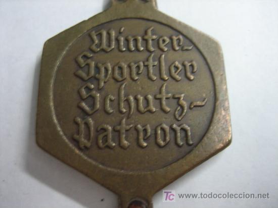 Coleccionismo deportivo: MEDALLA DE ESQUI ULLER - Foto 2 - 22843381