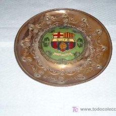 Coleccionismo deportivo: C.F.BARCELONA CENICERO METALICO DIAMETRO 150. Lote 5607759