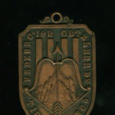 Coleccionismo deportivo: FEDERACION CATALANA DE TIRO CON ARCO 1959. Lote 25729431