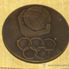Coleccionismo deportivo: MEDALLA BRONCE TORNEO OLÍMPICO ELIMINATORIO BALONMANO ESPAÑA 1972. .. Lote 13504490