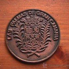 Coleccionismo deportivo: MEDALLA 50 ANIVERSARIO CLUB NATACION METROPOLE, LAS PALMAS DE GRAN CANARIA, VENTA SOLO PARA CANARIAS. Lote 14073281