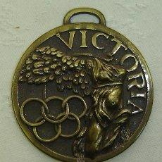 Colecionismo desportivo: MEDALLA CONMEMORATIVA CLUB HOQUEI LLORET 25 ANIVERSARIO - 1993-1994 DIAMETRO 5,5 CMS.. Lote 26992352
