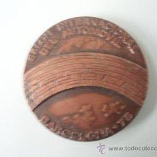Coleccionismo deportivo: MEDALLA DEL SALON INTERNACIONAL DEL AUTOMOVIL DEL 1.975. Lote 26481177