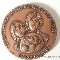 Coleccionismo deportivo: 21 SALON DE LA INFANCIA Y LA JUVENTUD DE BARCELONA DE 1.983. Lote 27079612