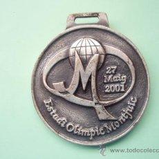 Coleccionismo deportivo: MEDALLA DEL ESTADIO OLIMPICO DE MONTJUIC JUEGOS ATLETIMO DE LOS MARISTAS DE CATALUÑA. Lote 27079614