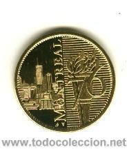 Coleccionismo deportivo: Moneda Conmemorativa Juegos olimpicos - Montreal 1976 - Foto 2 - 27565326