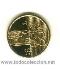 Coleccionismo deportivo: Moneda Conmemorativa Juegos olimpicos - Seul 1988 - Foto 2 - 160309352
